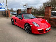 Porsche Boxster 981 2.7 265bhp PDK BIG SPEC IN CLASSIC GUARDS RED