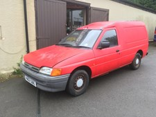 Ford Escort VAN PETROL 1 OWNER FORM NEW GARAGE/BARN/GARDEN FIND