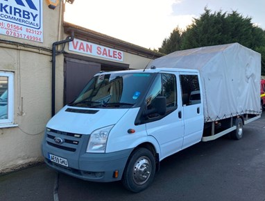 Ford TRANSIT RECOVERY TRUCK COVERED BEAVER TAIL DOUBLE